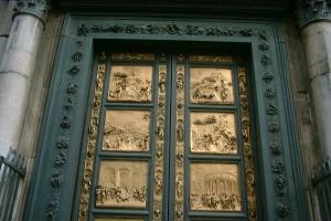 Gian tMetal Door